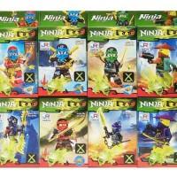 Mainan Anak Lego Bricks Ninja Green (8 Pcs)