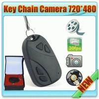 CARKEY CAMERA Gantungan kunci kamera) car keys 808 micro-camera mini