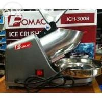 Jual ice crusher mesin serut es salju fomac ich300b hemat listrik otomatis Murah