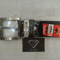 Ban / Ikat Pinggang / Gesper Tusuk Pria Kulit Levis Import MBP-023