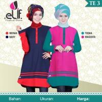 Baju Atasan Tunik Muslim Elif Te 3