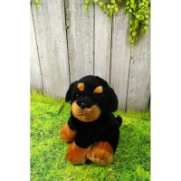 Boneka Anjing Rottweiler