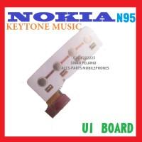 UI BOARD KEYTONE NOKIA N95 MUSIC KEYPAD BOARD PAPAN PCB LT 702200