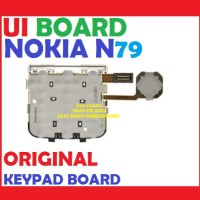UI BOARD NOKIA N79 KEYPAD BOARD PAPAN PCB TOMBOL ORI 702196