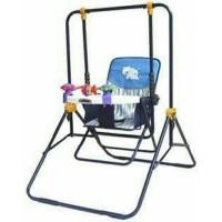 Jual Ayunan bayi yang bagus murah terbaru Pliko Baby Swing praktis lipat Murah