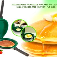 Teflon Pan Ceramic Non Stick Flip Jack Pancake Maker As Seen On TV
