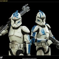 Sixth scale Sideshow collectibles Star wars Clone trooper Echo & Fives