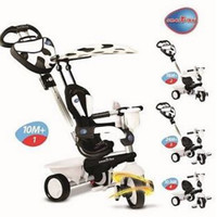 Smart Trike 4 in 1 New Zoo Touch Steering Tricycle cow
