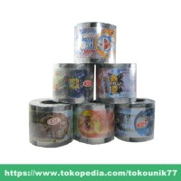 harga Plastik Seal Pop Ice / Lid Cup Roll Bergambar Tokopedia.com