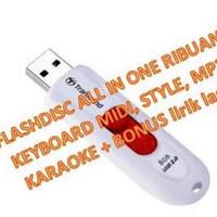 Flashdisc Isi MIDI Style MP3 Keyboard Yamaha PSR Casio Techno