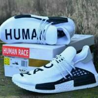 Sepatu Adidas NMD Human Race Premium White import made in vietnam