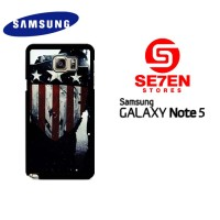 Casing HP Samsung Galaxy Note 5 captain america 1 Custom Hardcase Cove