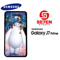 Casing HP Samsung J7 Prime Big Hero 6 Baymax 2 Custom Hardcase Cover