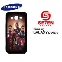 Casing HP Samsung Grand 2 avengers poster Custom Hardcase Cover