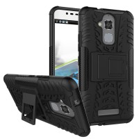 Hard Soft Case Asus Zenfone 3 Max ZC520TL Casing HP Cover Armor Stand