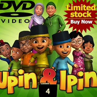 Video Film Kartun Edukasi Upin & Ipin 42 Episode Season 4 DVD Video