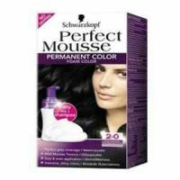 schwarzkopf perfect mousse black brown hair color