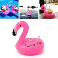 Jual Pink Flamingo Drink Holder, Floaties Ban, Tempat Minum, Pool Party Murah
