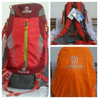 Tas Carrier/Gunung Mods 2895 Red 40L