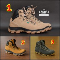 SEPATU PRIA CASUAL BOOTS AZCOST HIKER MADE IN INDONESIA 100% SAFETY