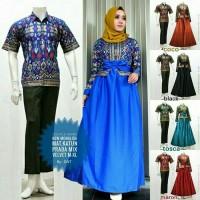 Sarimbit Couple Batik Gamis