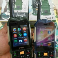 HANDPHONE HP ANDROID MURAH PRINCE PC 118 3G UNIK BISA POWER BANK BARU