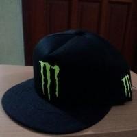 harga Topi Snapback Monster Energy Tokopedia.com