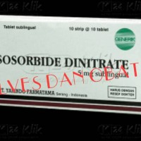 ISOSORBID DINITRATE 5 / ISDN 5 / UNTUK JANTUNG
