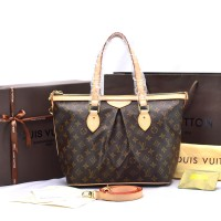 Tas Louis Vuitton LV Palermo PM Monogram M40145-Tas Branded Wanita