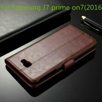 Flip Cover Samsung Galaxy J7 Prime J7Prime 2016 Wallet Leather Case