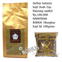 Jual KOPI ROBUSTA ACEH GAYO BUBUK GROUND COFFEE SPECIALTY 200gr RC Murah