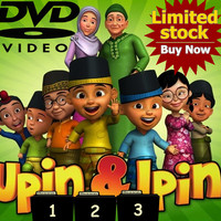 Video Kartun Edukasi Upin & Ipin 60 Episode Season 1 sampai 3 DVDVideo