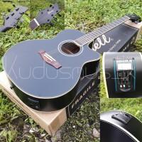 Jual Gitar Grand concerto black doft prener LC | gitar akustik elektrik Murah