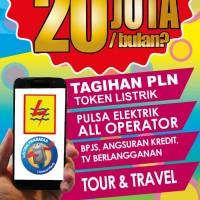 E-LOKET (PULSA, KUOTA, TIKET PESAWAT, HOTEL, PLN, PDAM, GAME ONLINE)