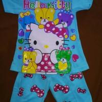 Jual Baju Setelan Anak Perempuan Hello Kitty Usia 2 tahun,3 tahun & 4 tahun Murah