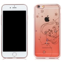 Remax Diamond Fairy TPU Protective Soft Case iPhone 6 6s - Pink f4532a0035