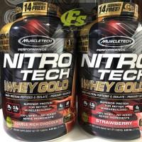 NITROTECH WHEY GOLD 6 LBS PERFORMANCE SERIES MUSCLETECH NITRO TECH