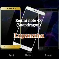 tempered glass warna redmi note 4 X Snapdragon redmi note 4X new