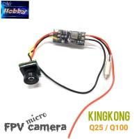Kingkong Q100 Q25 FPV camera 5.8G 25mW 16CH AV Transmitter 600TVL