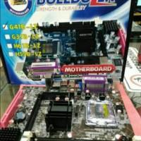 Motherboard Bulldozer G41 DDR3 LGA 775 paraler port
