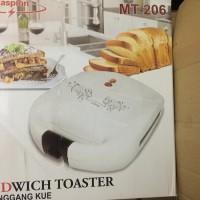 Sandwich Toaster Maspion MT 206 Pemanggang Roti Panggangan Kue Waffle