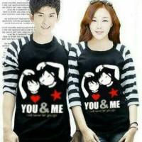 Kaos Kimono Couple You & Me Bintang / Kaos Couple / Jaket Couple