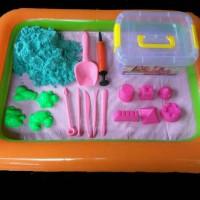 Jual pasir kinetic mainan anak Murah