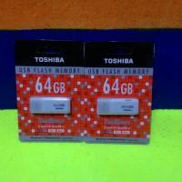 Flashdisk Toshiba 64 GB ori 99% pc komputer laptop