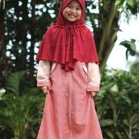 Hijab Alila Kids - Gamis Zippy Kids Yakult ( Size 4 ) Berkualitas