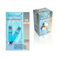 harga Strip & Stik Kolestrol Easy Touch, Cholestrol Easytouch Tokopedia.com