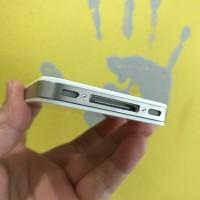 Apple iPhone 4S 8gb white second bintang 3 kondisi 96% garansi 1 bulan