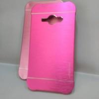 Samsung J1 Ace Motomo Ino Metal Case Cover Pelindung Belakang HP