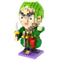 LOZ 9826 Lego Nano Block Nanoblock Zoro One Piece