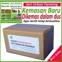 Jual Paket Super 13 Jenis Bibit Unggul (Pokcoy, Cabe, Tomat, Pepaya, dll) Murah